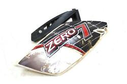10-13 Yamaha Yz250f Oem White Right Rear Back Side Number Plate Fairing Cowl