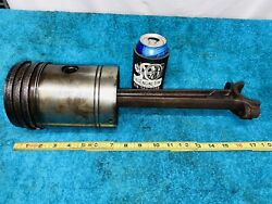 Piston And Connecting Rod Ct4 Stover Hit Miss Gas Engine Part 7ct4 And 201ct4