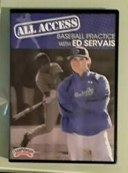 All Access Baseball Practice With Ed Servais Dvd 2 Disc Set
