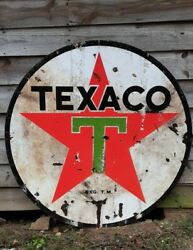 6and039 Vintage Texaco Sign