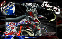 Ripper Stickers Graphique Pour Sx And Sxf Ktm 2011-2020 250sxf 450sxf And 125sx
