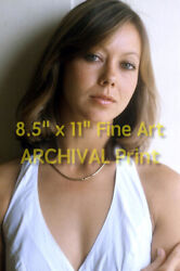 Sexy British Actress Jenny Agutter Hi-res Archival Premium Photo 8.5 X 11