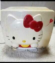 Hello Kitty Crt Tv Japanese 1989 With A Limited Number Of 3000 Vintage As Is
