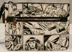 Nwt_coach │ Marvel Gallery Pouch With Comic Book Print, Limited Edition, 178.00
