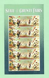 Sc 5401-5404 Full Pane Forever Issue State And County Fairs Ej31