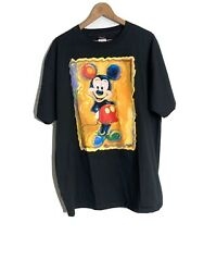 Vtg Art Of Disney By Artist Eric Robison Mickey Mouse Shirt Sz Xl Exclusive Rare