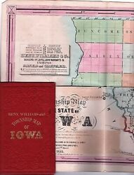 Williams Iowa / Henn / Township Map Of The State Of Iowa ... Dealers In Land 1st