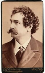 John Johnstone / Carte De Visite Of American Actor Known By Stage-name 1st 1860