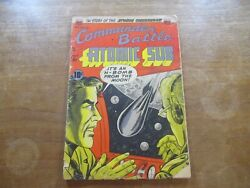 Commander Battle And The Atomic Sub 3 H-bomb Moon Cover Atomic Bomb Explosions