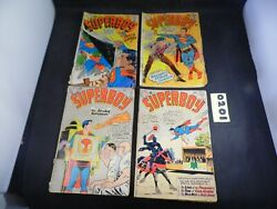 Superboy Lot Of 4 Books 103 115 144 And 152 Well Read Worn Books