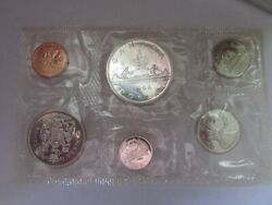 Canada 1966 Proof Like Pl Coin Set Unc 1.1 Oz Pure Silver