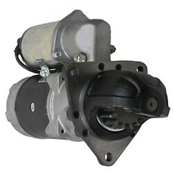 New 15t Starter Fits Marine Engines S16r S12r 3776620201 37766-20201 3776620200