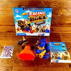 Raging Bull Rodeo Game New Boxed Load The Bull With Accessories Toys Games