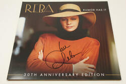 Reba Mcentire Signed Autograph Album Vinyl Record - Rumor Has It Country Icon