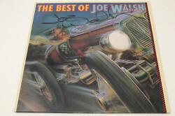 Joe Walsh Signed Autograph Album Vinyl Record - The Eagles, The Best Of, Rare