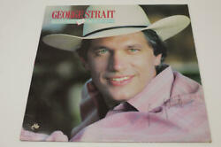 George Strait Signed Autograph Album Vinyl Record Right Or Wrong King Of Country