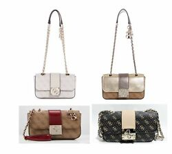 Logo City Crossbody Bags Convertible Shoulder Handbags Multi NWT SM747618 $35.99