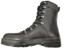 German Army Para Boots Genuine Military Surplus Combat Leather Black Nearly New