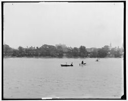 1905 Photo Of River Front From West Springfield Springfield Mass Z