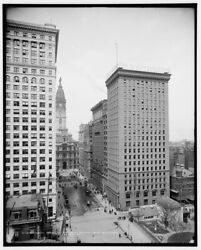 1904 Photo Of North American And Real Estate Trust Buildings Philadelphia Pa P