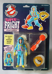 Rare Vintage 1986 Ghostbusters Super Fright Ray Stantz European Kenner New
