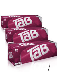 3 Of 12 Pack Tab Soda Cola Brand New Unopened Discontinued Sold Out Hot🔥🔥📈