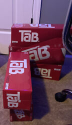 5 Of 12 Pack Tab Soda Cola Brand New Unopened Discontinued Sold Out Hot🔥🔥📈