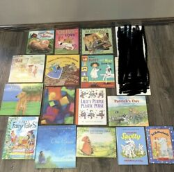 Childrens Book Lot 17 Hardcover Bedtime Story Reading Out Loud Kids Picture Set