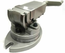 Precision Milling Vise Vice Swivel Base And Angle Tilting 2 Way-jaw 3 Inches