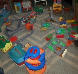 Thomas And Friends Huge Take N Play Lot 12 Playsets, 19 Expansion Tracks + More