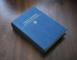 Theodore Dreiser An American Tragedy. Vintage Old Books On Russian Language.