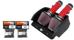 Kandn Typhoon Performance Cold Air Intake System For 08-2010 Dodge Viper 8.4l V-10