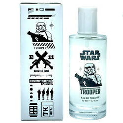 Star Wars Storm Trooper by Disney for boys EDT 1.7 oz TESTER New $7.89