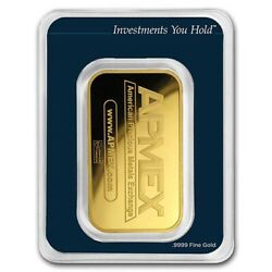 1 Oz Gold Bar - Apmex In Tep Package