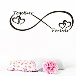 LOVE Heart Together Forever Bedroom Wall Sticker For Home Decoration Wall Decal