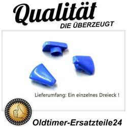1x Blue Plastic Triangle For Mercedes 190sl W113 Pagode W111 Heating Rose
