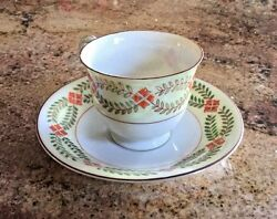 Lot Of 12 Vintage Maruku China Demitasse Cup And Saucer Made In Occupied Japan