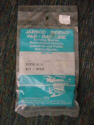 Three Jabsco Par Ray Line Spout Kit 37050-0003 And Seven 37050-0002