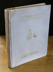 Mother Goose The Old Nursery Rhymes 1913 Arthur Rackham Signed Limited Edition