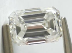 0.90 Ct Loose Natural Diamond E Vs1 Emerald Cut Gia Certified Collection