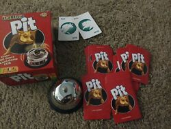 Pit Deluxe The Market Card Game Complete Game Parker Brothers Preowned