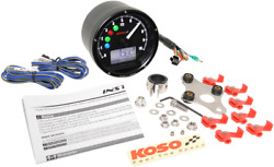 Koso Tnt-01 Electronic Speedometers/tachometers Black/black Ba035k00-hd