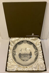 """Wedgwood Bailey Banks And Biddle American Red Cross Bowl Earthenware 9-1/2"""" In Box"""