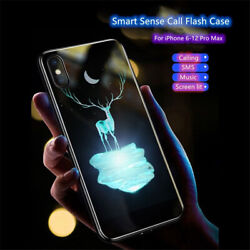 Deer Cases Call Light Up LED Flash Phone For iPhone 7 8 X XR 11 12 Pro Max Gifts