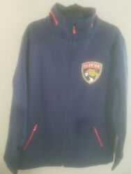 Nwt Fanatics Authentic Pro Navy Blue Florida Panthers Rinkside Full-zip Size Xl