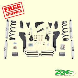 6 Front And Rear Suspension Lift Kit For Dodge Ram 2500 4wd 2003-07 Zone