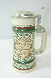 Vintage German Style Beer Stein Avon 261999 Handcrafted Brazil 1978 Trout Setter