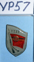 Vp57 East German Stasi Badge For 35 Years Of Service, In The Box