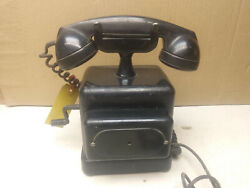 Automatic Electric Monophone, Hand Crank, Battery Powered