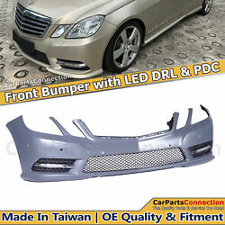Front Bumper With Pdc Holes W/amg Pkg Facelift Style For Benz E-class W212 12-13